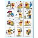 borduurpakket winnie de pooh, twaalf maanden-1