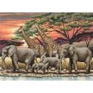 borduurpakket savanne