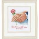 borduurpakket huwelijk emelie-dennis
