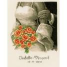 borduurpakket huwelijk isabelle-vincent