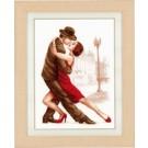 borduurpakket dansend paar