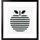 borduurpakket abstract, appel