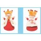 borduurknuffel pim-pam-pom, kleine koning