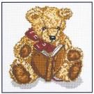 """borduurpakket """"meneer beer leest voor"""""""