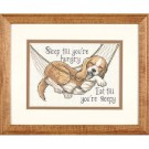 borduurpakket beagle in hangmat