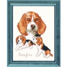 borduurpakket beagles