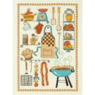 borduurpakket collage kokkerellen